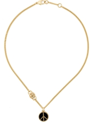 Marc By Marc Jacobs 'Peace Out' Pendant Necklace