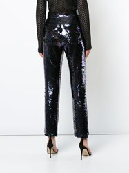 Balmain Sequin Embellished Trousers Multicolour