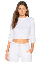 Cotton Citizen Monaco Crop Long Sleeve White