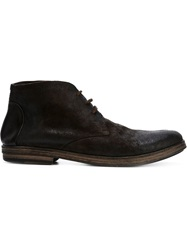 Marsell Marsell Lace Up Ankle Boots Brown