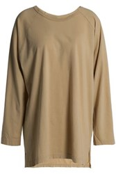 Oak Cotton Jersey Top Sand