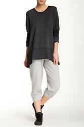 Central Park West The Hye Crop Pleated Jogger Multi