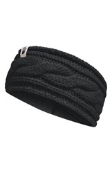 The North Face Women's Cable Ear Warmer Black Tnf Black