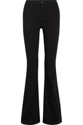 Ag Jeans Janis Mid Rise Bootcut Jeans Black