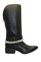 Groove Dallas Tall Boot Black