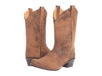 Old West Boots 18009 Leopard Print Cowboy Animal Print