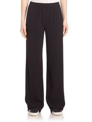 Vince Wide Leg Trousers Black