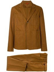 Barena Casual Two Piece Suit Brown