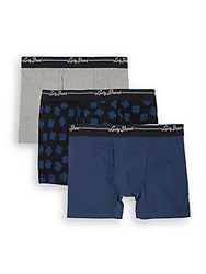 Lucky Brand Cotton Blend Boxer Briefs 3 Pack Multi