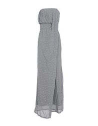 Bgn Long Dresses Light Grey