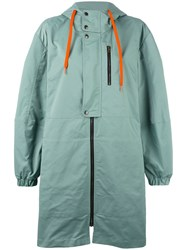 Tomas Maier Waterproof Coat Green