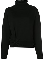 Alexander Wang T By Knotted Jumper Black