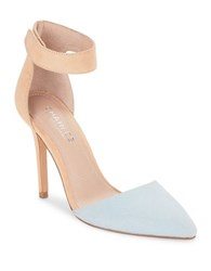 Charles By Charles David Pointer Point Toe D'orsay Pumps Blue