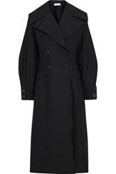 Beaufille Double Breasted Ponte Coat Black