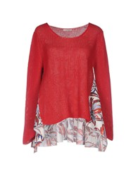 Devotion Sweaters Red