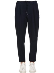 Gta 18Cm Cotton Seersucker Pants Navy