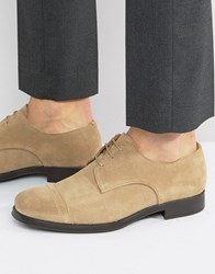 Selected Homme Oliver Suede Shoes Stone