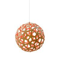 David Trubridge Coral Light Natural Pink 80Cm