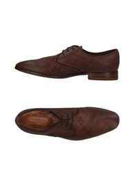 Barracuda Lace Up Shoes Brown