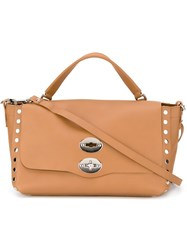 Zanellato Small 'Postina' Satchel Brown