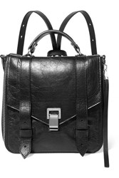 Proenza Schouler Ps1 Textured Leather Backpack Black