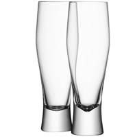Lsa International Bar Lager Glasses Set Of 4 400Ml