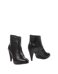 Armani Jeans Ankle Boots Black