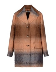 Ailanto Full Length Jackets Camel