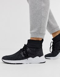 Loyalty And Faith Sock Trainer In Black