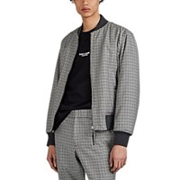 Rag And Bone Manston Reversible Bomber Jacket Black
