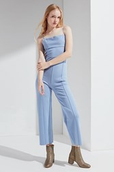 Urban Outfitters Uo Audrey Ponte Jumpsuit Grey