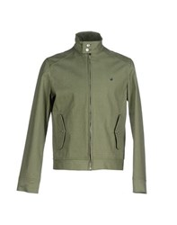 Brooksfield Coats And Jackets Jackets Men Military Green