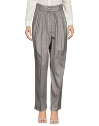 Daniele Carlotta Casual Pants Grey