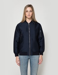 Just Female Theory Bomber Navy