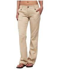 Mountain Khakis Island Pant Yellowstone Women's Casual Pants Beige