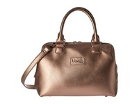 Lipault Miss Plume Small Bowling Bag Pink Gold Bags Multi