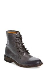 Blackstone Women's 'Il94' Lace Up Boot Fumo Leather