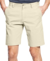 Cutter And Buck Big And Tall Beckett Flat Front Shorts Sand