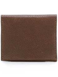 Ally Capellino 'Riley' Coin Purse Brown