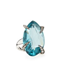 Marquis Fancy Cut Sky Quartz Ring Alexis Bittar Fine Blue