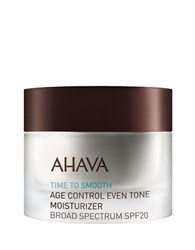 Ahava Age Control Even Tone Moisturizer Spf 20 No Color