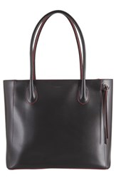 Lodis Cecily Rfid Leather Tote Black