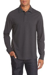 Men's Big And Tall Nordstrom Long Sleeve Pique Cotton Polo
