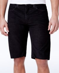 Ezekiel Men's Bryce Slim Fit Stretch Denim Shorts Black