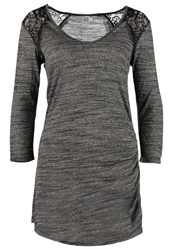 Saint Tropez Long Sleeved Top Black