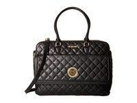 Love Moschino Large Classic Quilted Handbag Black