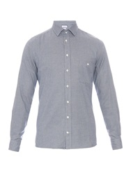 Richard James Puppytooth Brushed Cotton Shirt