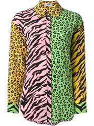 Moschino Cheap And Chic Animal Pattern Shirt Multicolour