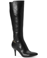 Calvin Klein Women's Rikita Wide Calf Tall Dress Boots Women's Shoes