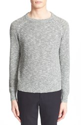 Men's Todd Snyder Seed Stitch Cotton And Cashmere Pullover